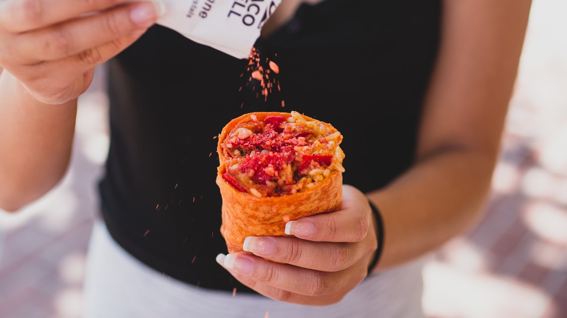 spicy pop rocks burrito is back