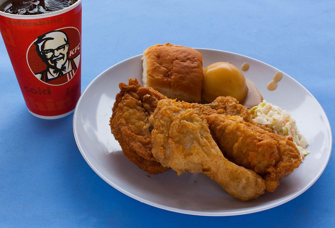 kfc customer fined