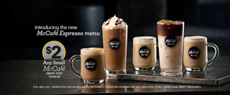 McDonald's adds espresso