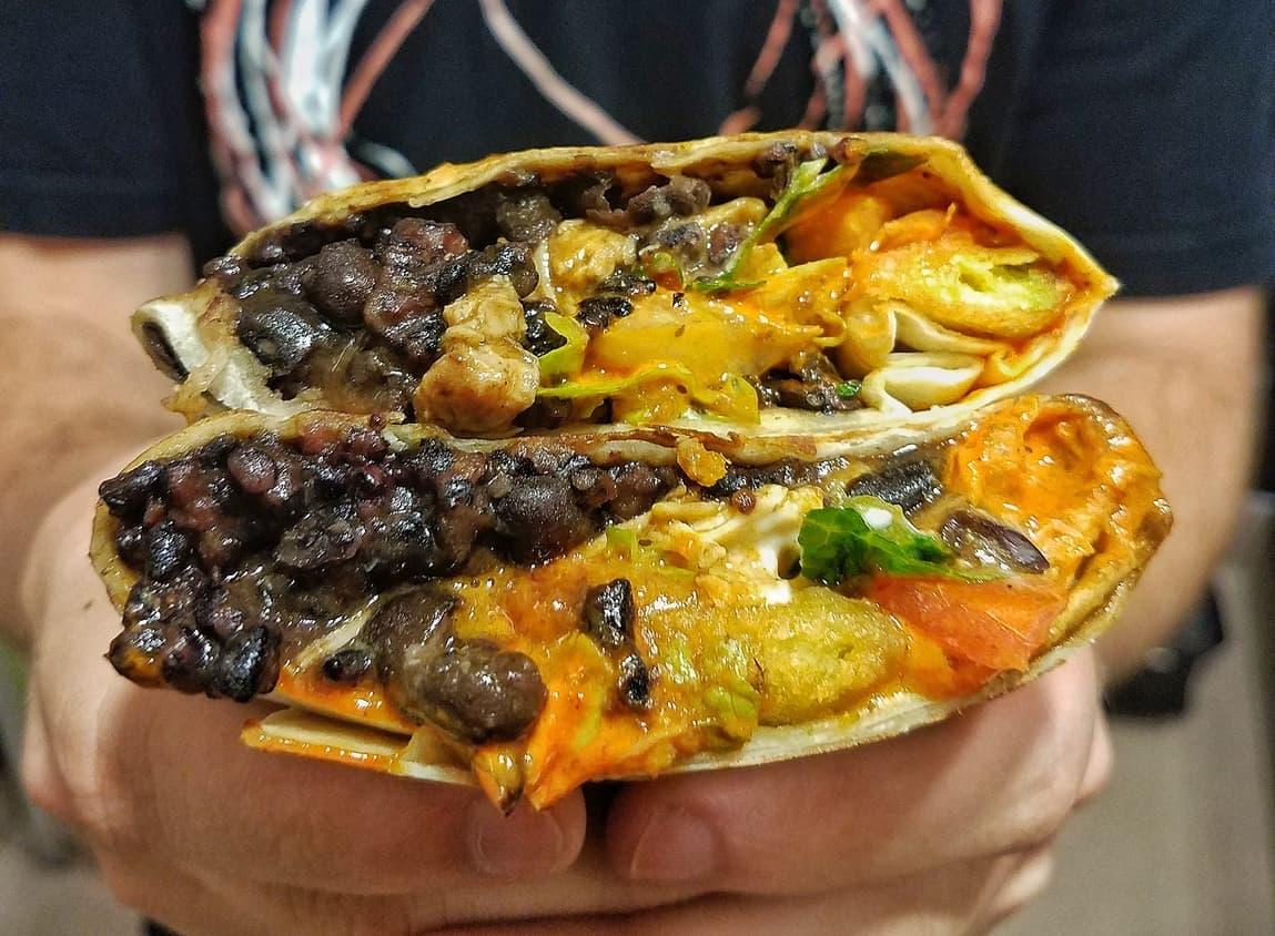 forbidden rice bowl burrito