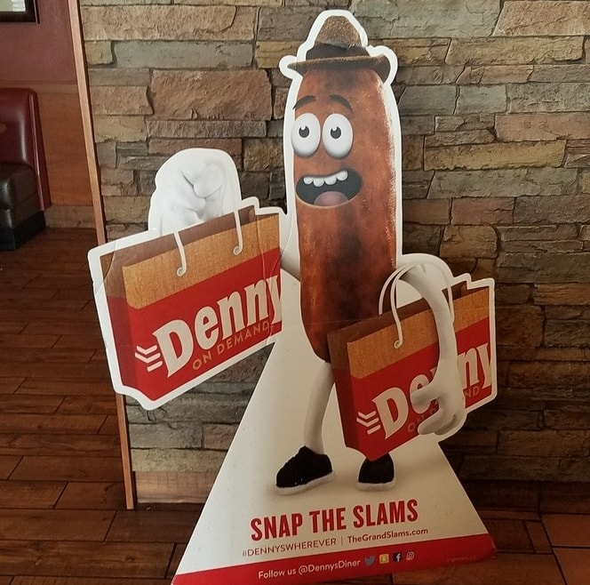 sausage mascot