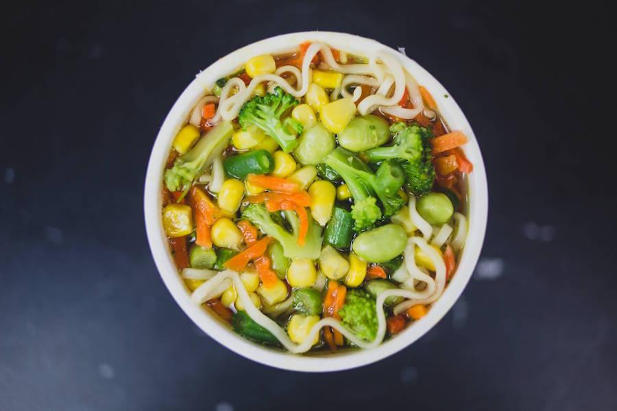 Cup noodles very veggie