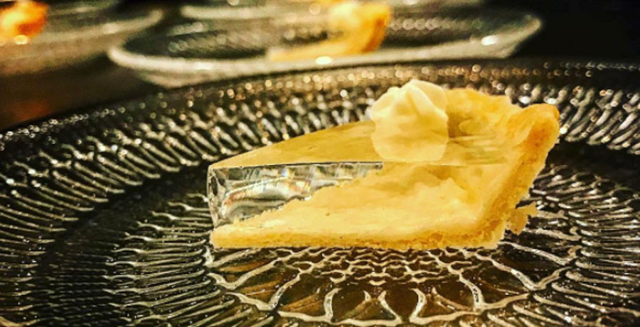 Image result for clear pumpkin pie
