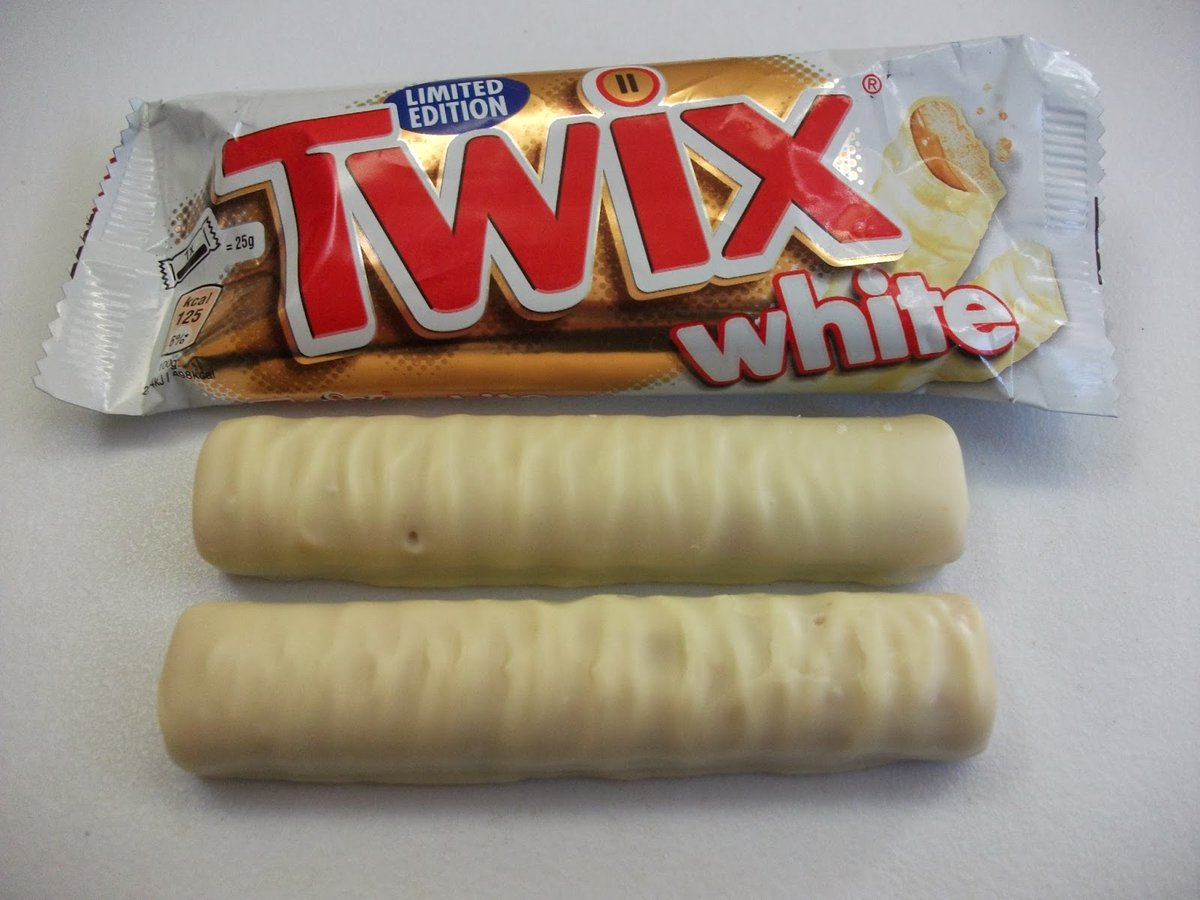 Image result for white chocolate twix