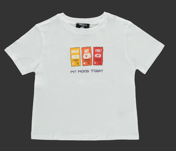 Girls Taco Bell Hot Sauce Tee -- 1590