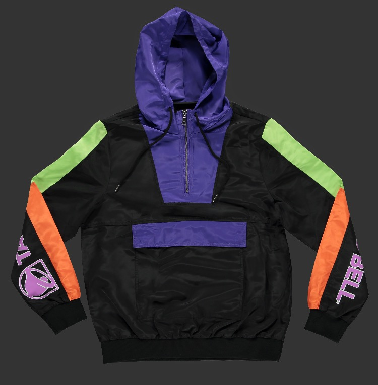 Taco Bell Anorak Jacket -- 2990