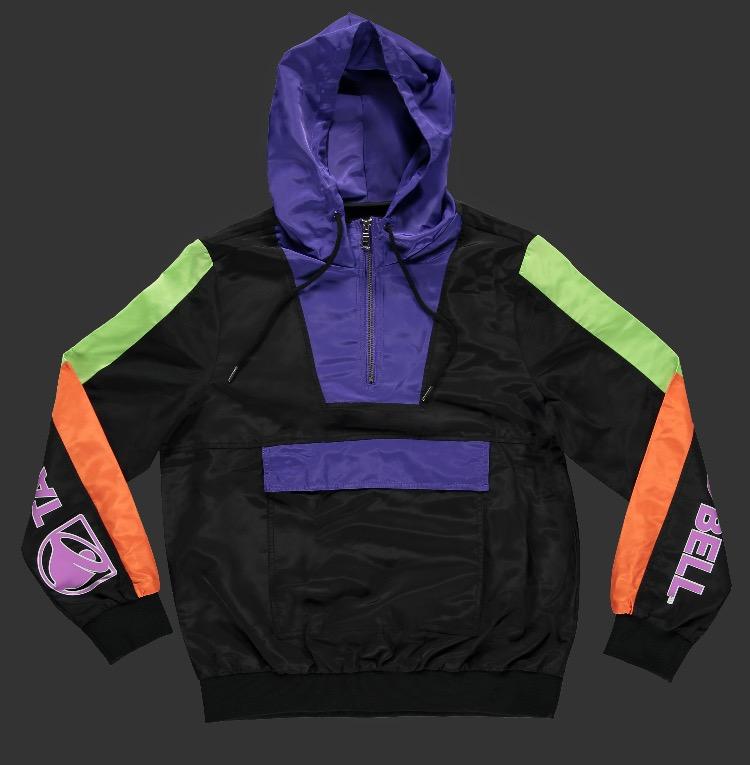 Taco Bell Anorak Jacket -- 2990