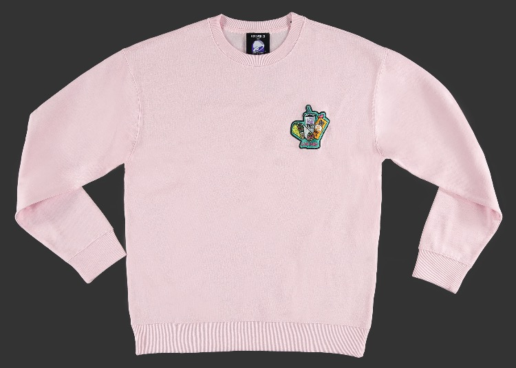 Taco Bell Patch Sweatshirt -- 1790