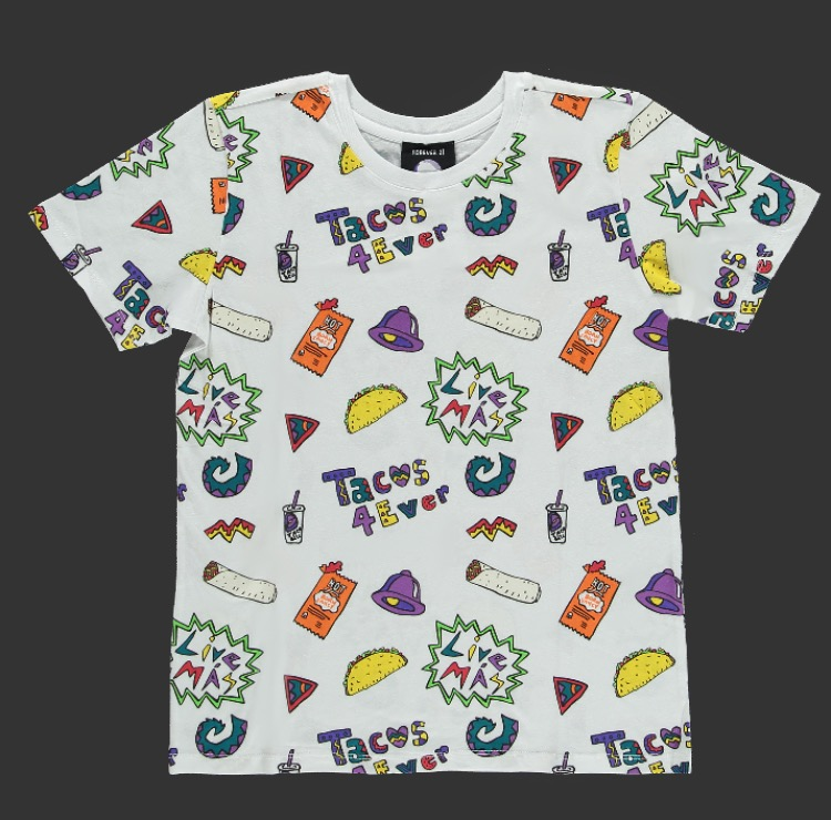 Taco Bell Tacos 4Ever Tee -- 1290