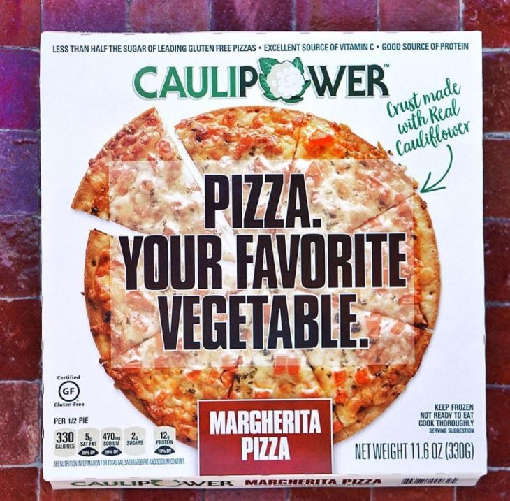 frozen cauliflower pizza startup