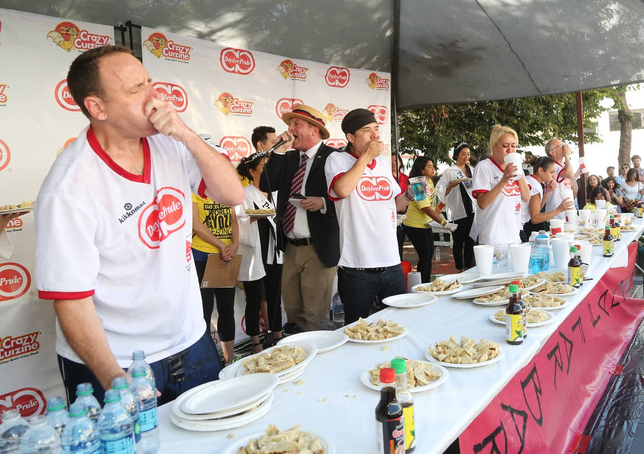 competitive eaters