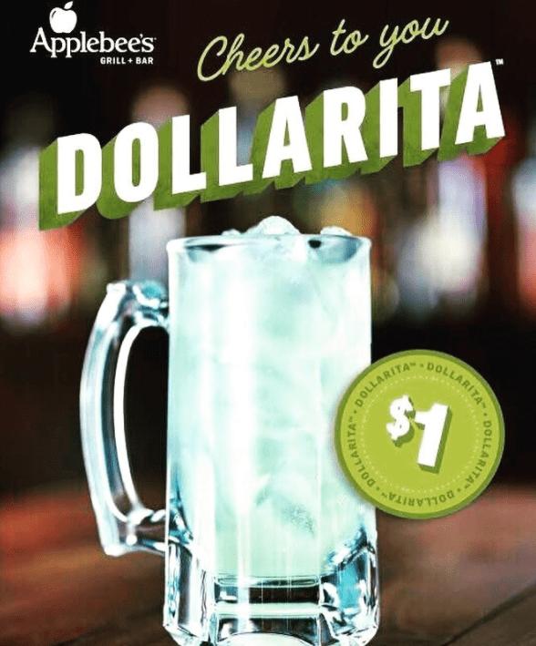 one dollar margaritas