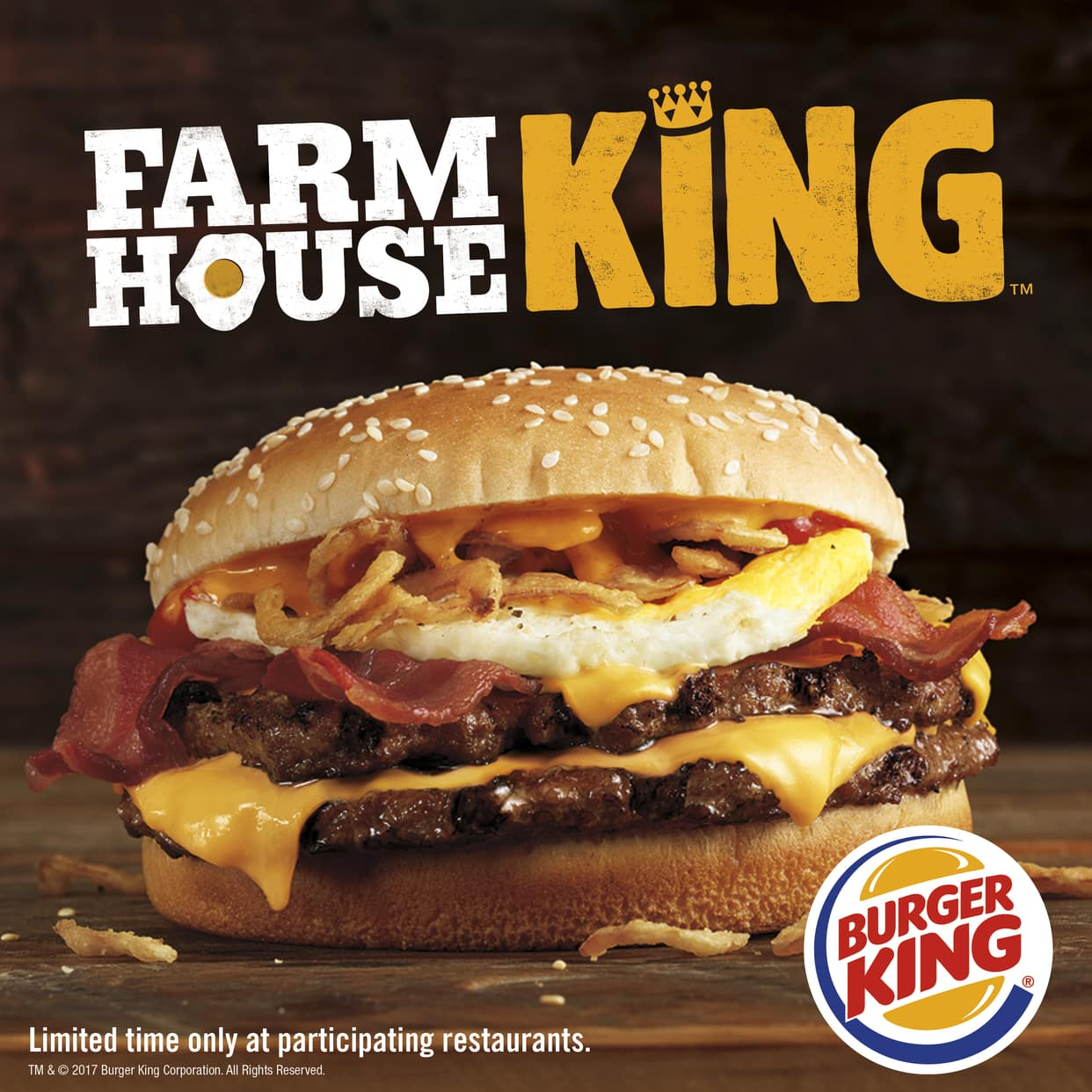 Burger Kings New Farmhouse King Burger Is Its Unhealthiest Creation Yet
