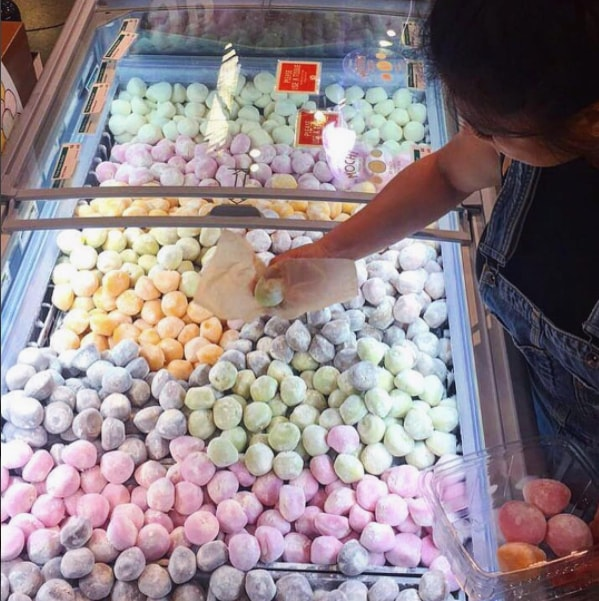 self-serve mochi ice cream bars