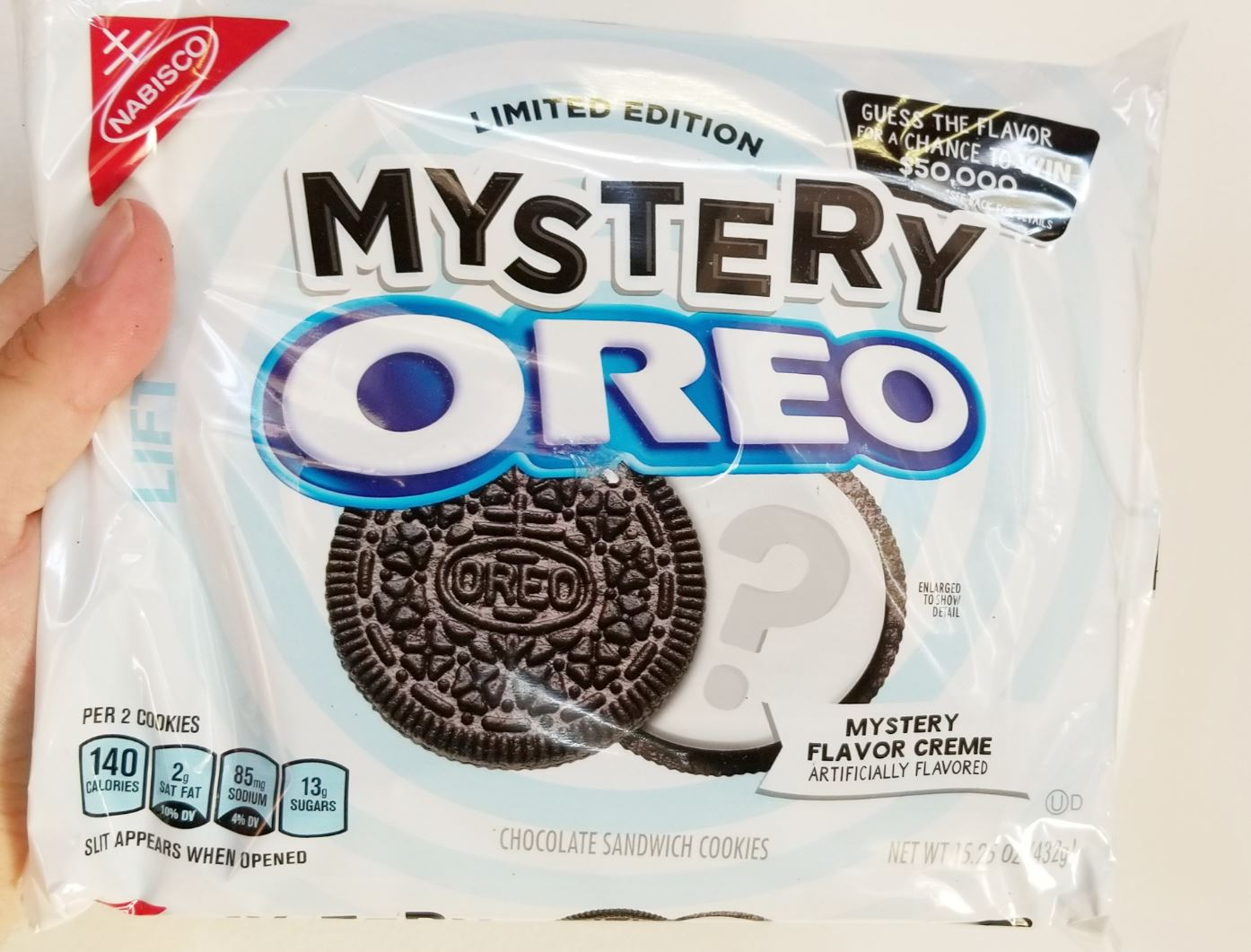 New Mystery Oreo packaging