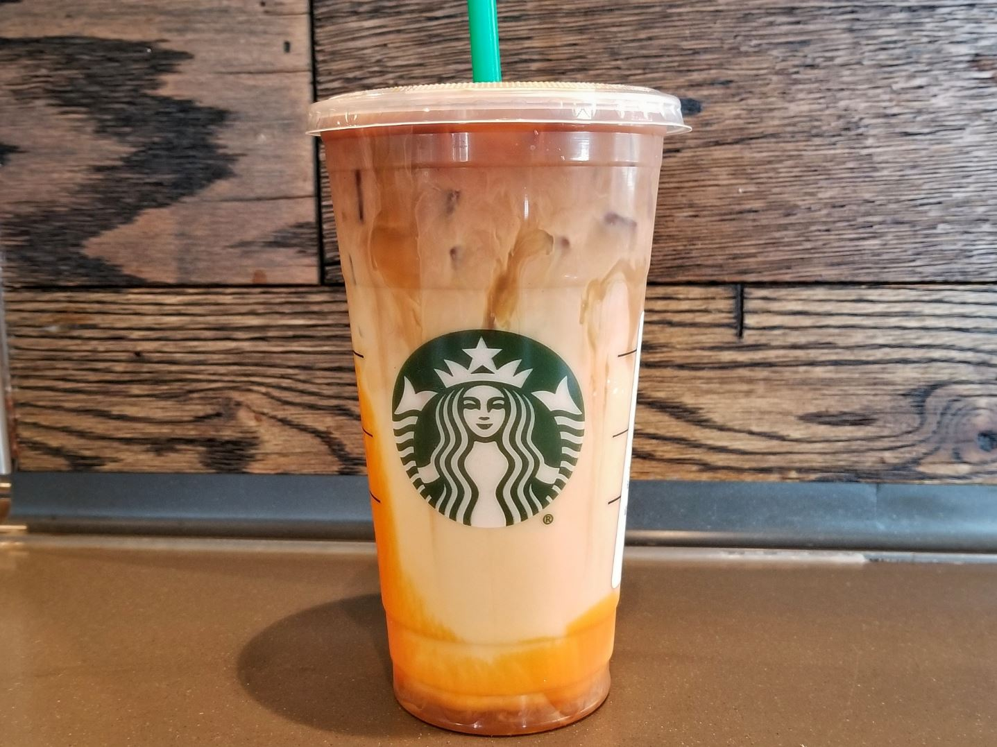 Starbucks Pumpkin Caramel Macchiato