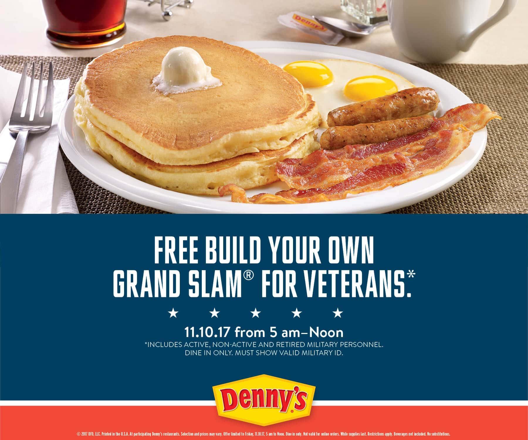 free veterans day deals