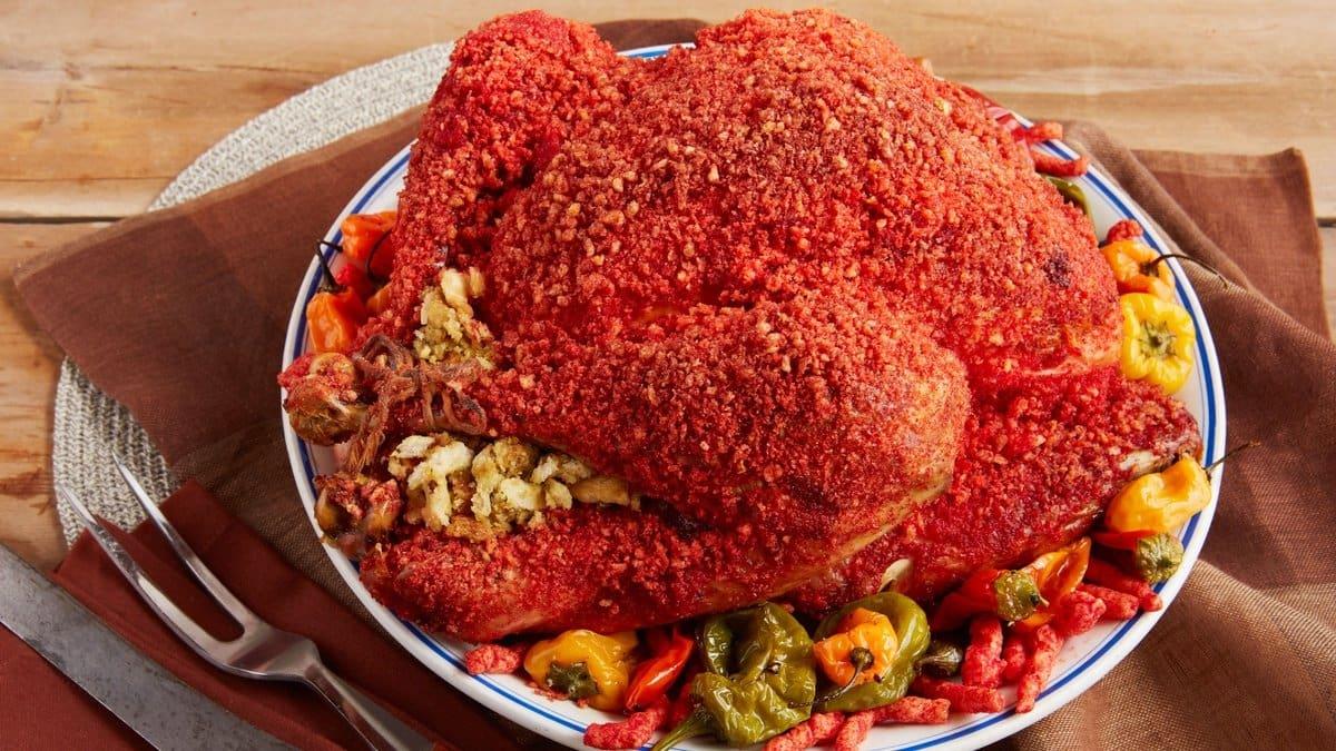 flamin hot cheetos turkey recipe