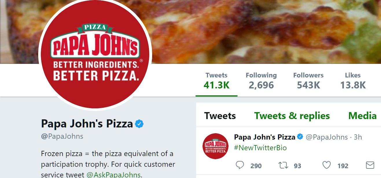DiGiorno Savagely Clowns On Papa John\'s Falling Stock