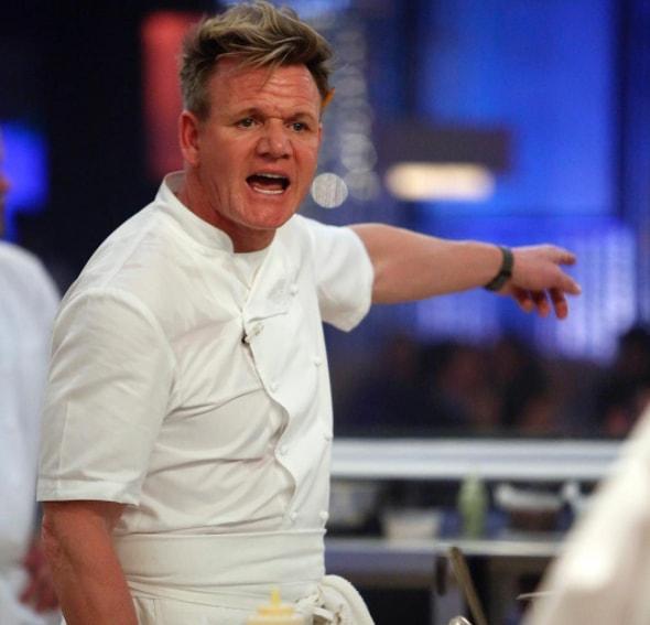 Gordon Ramsay blasts chef