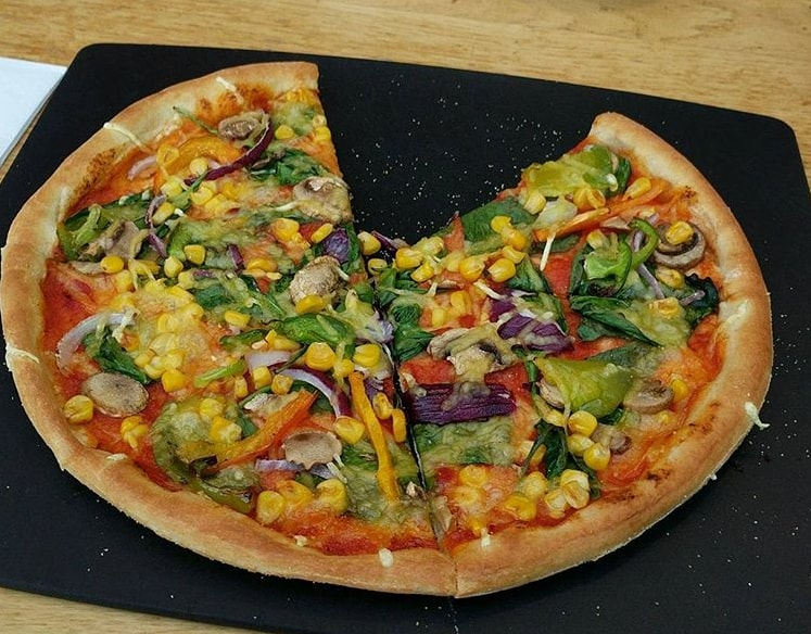 pizza hut vegan pizzas
