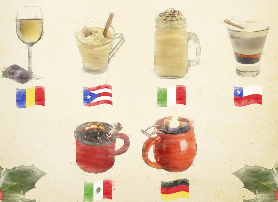 How To Make Classic Christmas Drinks From Around The World