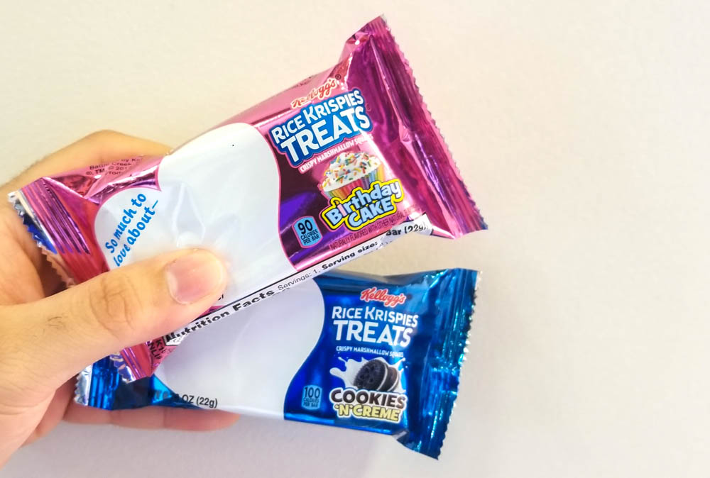 Kelloggs Just Dropped Two New Rice Krispies Treats Flavors That Were Actually Inspired By Customers Homemade Recipes The Are Birthday Cake And