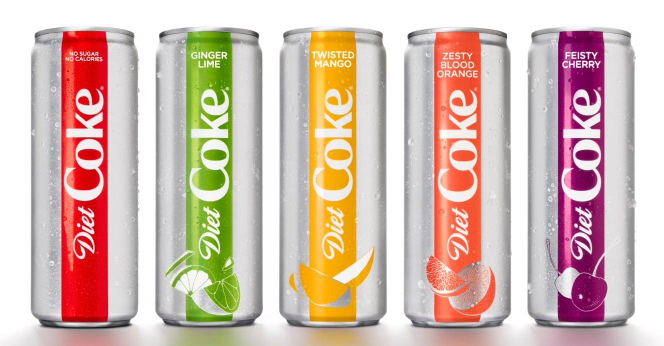 diet coke rebrand