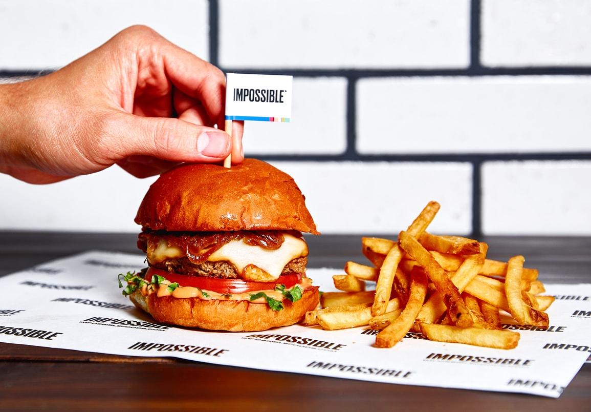Impossible Burger: Wahlburgers Launches 'Bleeding' Plant-Based Impossible