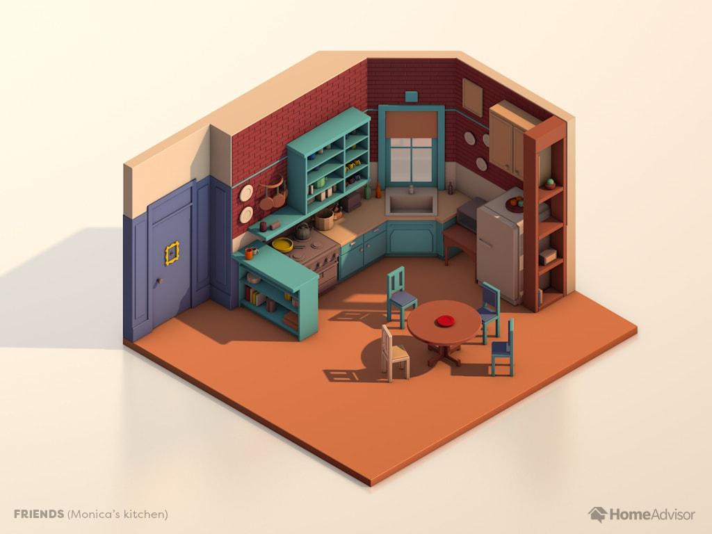 tv show kitchens