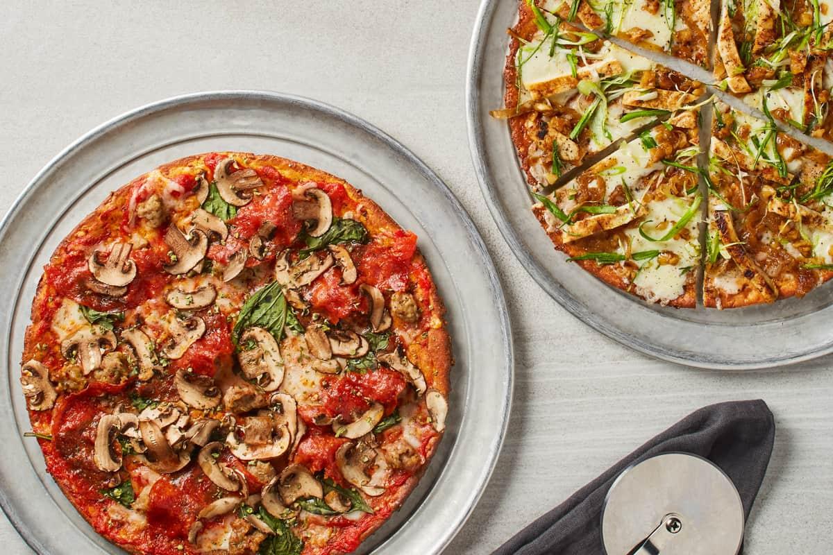 California Pizza Kitchen Veggie Pizza