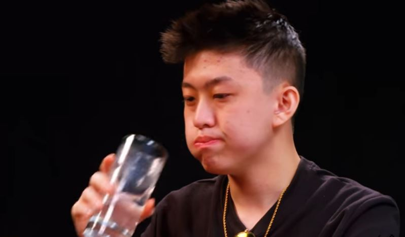Rich brian explains his bromance with post malone while taking down rich brian explains his bromance with post malone while taking down hot wings stopboris Image collections