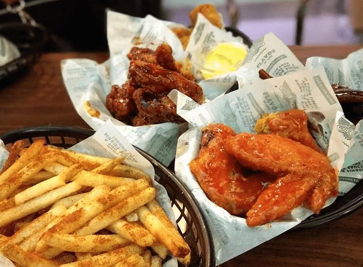 best chain restaurant wings