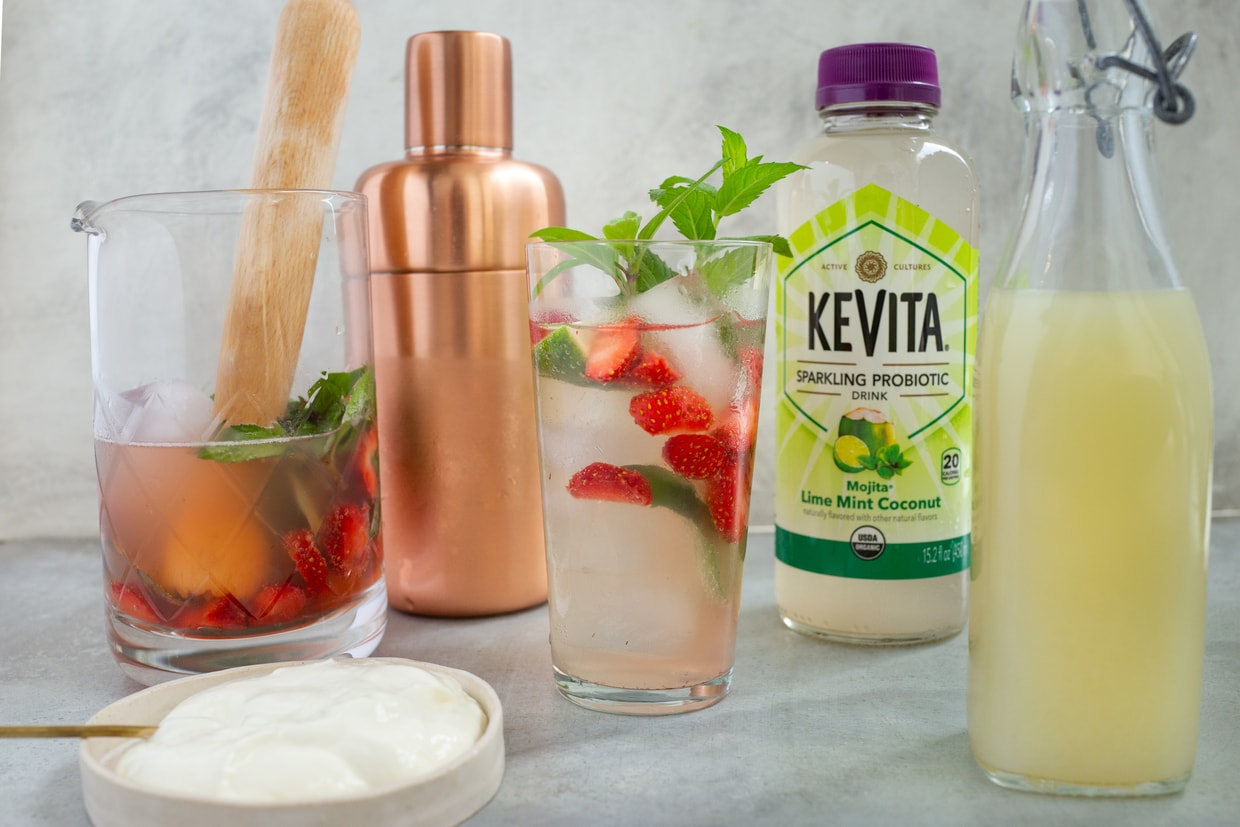 sparkling probiotic water