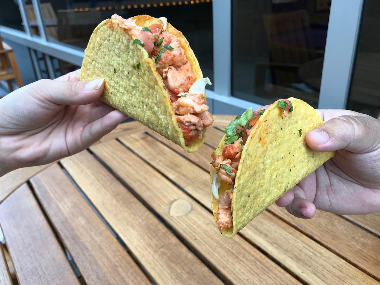 crayfish taco