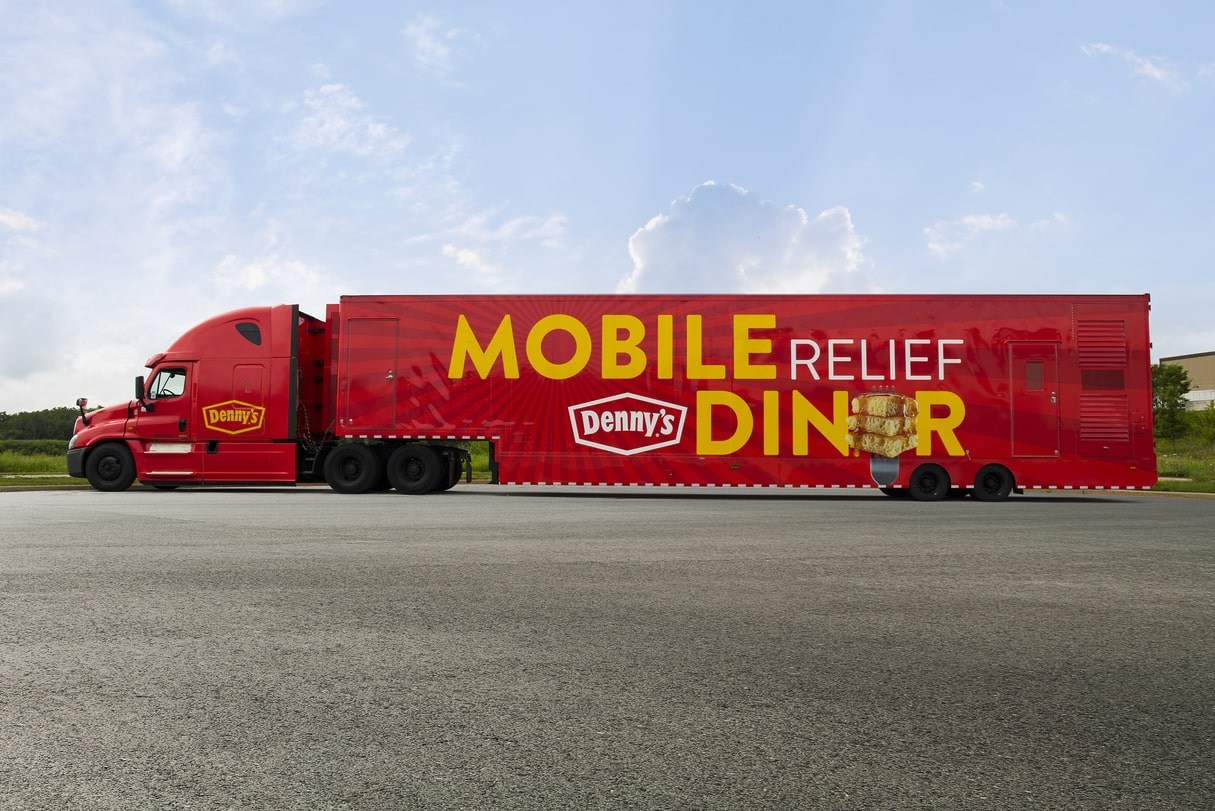 mobile relief diner