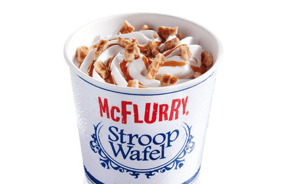 stroopwafel mcflurry