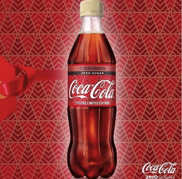 Cinnamon Flavored Coca Cola Is A Thing In The Uk At Least