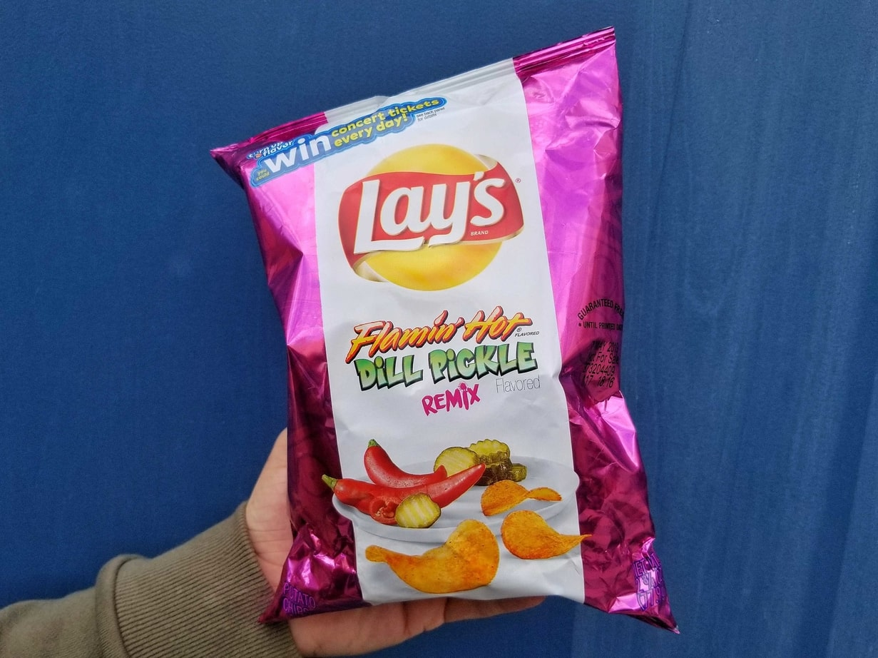 Aye    Lays drops obscure new potato chip flavors right on