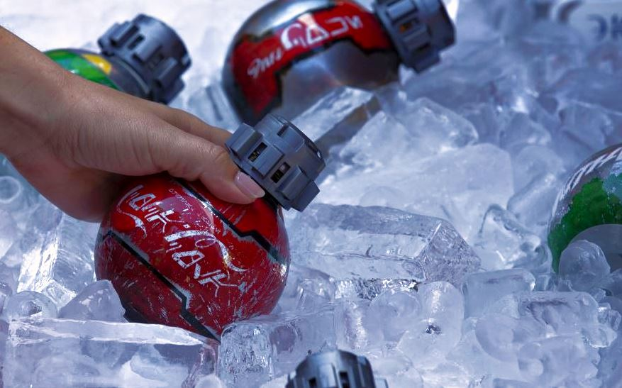 A Sneak Peek At Disneyland's New Coke Bottles For Star Wars: Galaxy's Edge