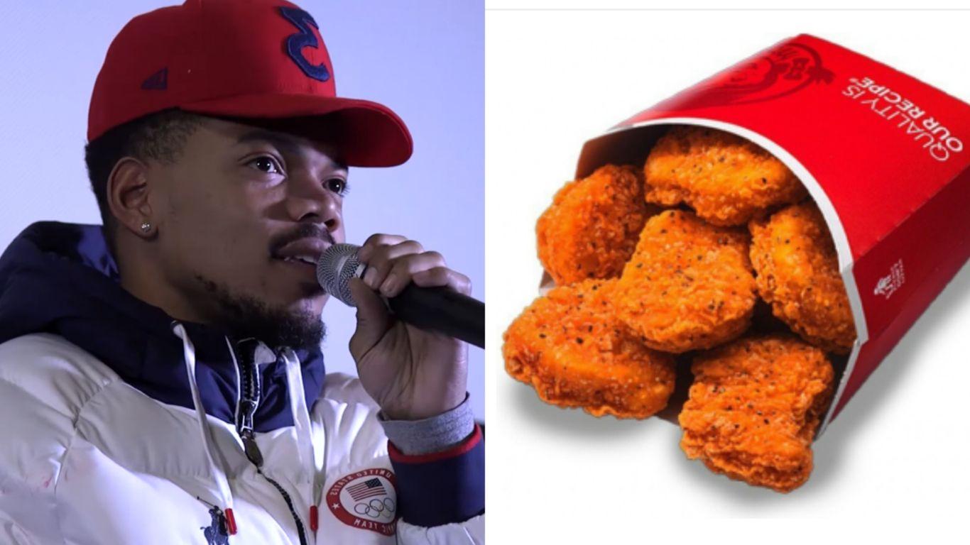 Resultado de imagen para chance the rapper nuggets