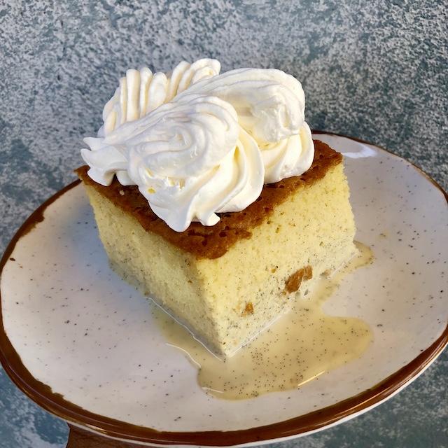 Jurassic Cafe_Vanilla Bean Tres Leches Cake