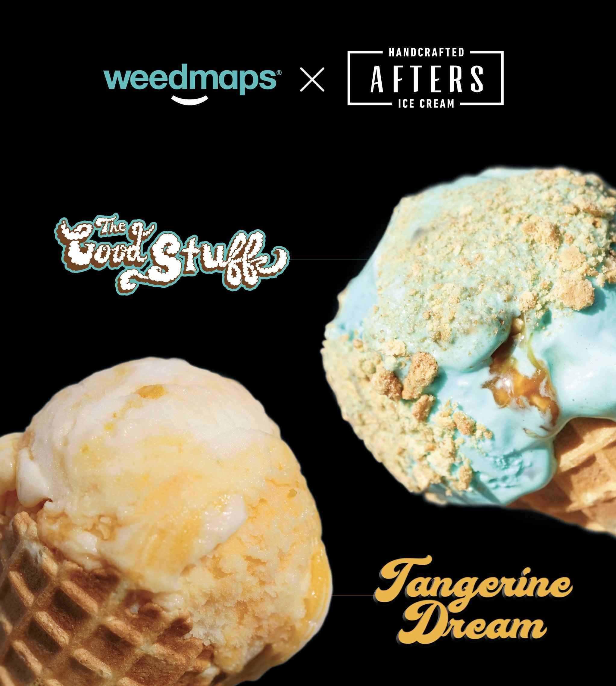 Afters Ice Cream x Weedmaps