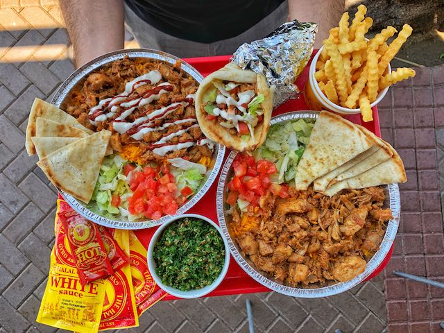 halal guys spicy bbq chicken