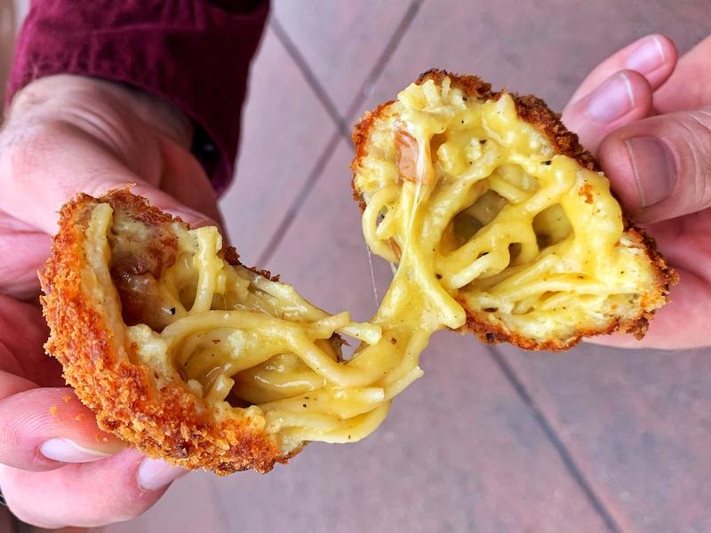 carbonara fritti