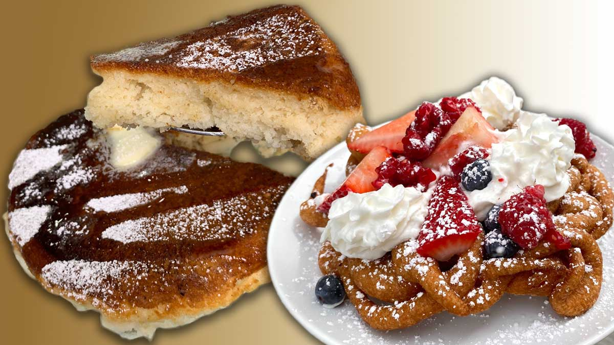 Easy At-Home Pancake Mix Recipes, Including FUNNEL CAKE