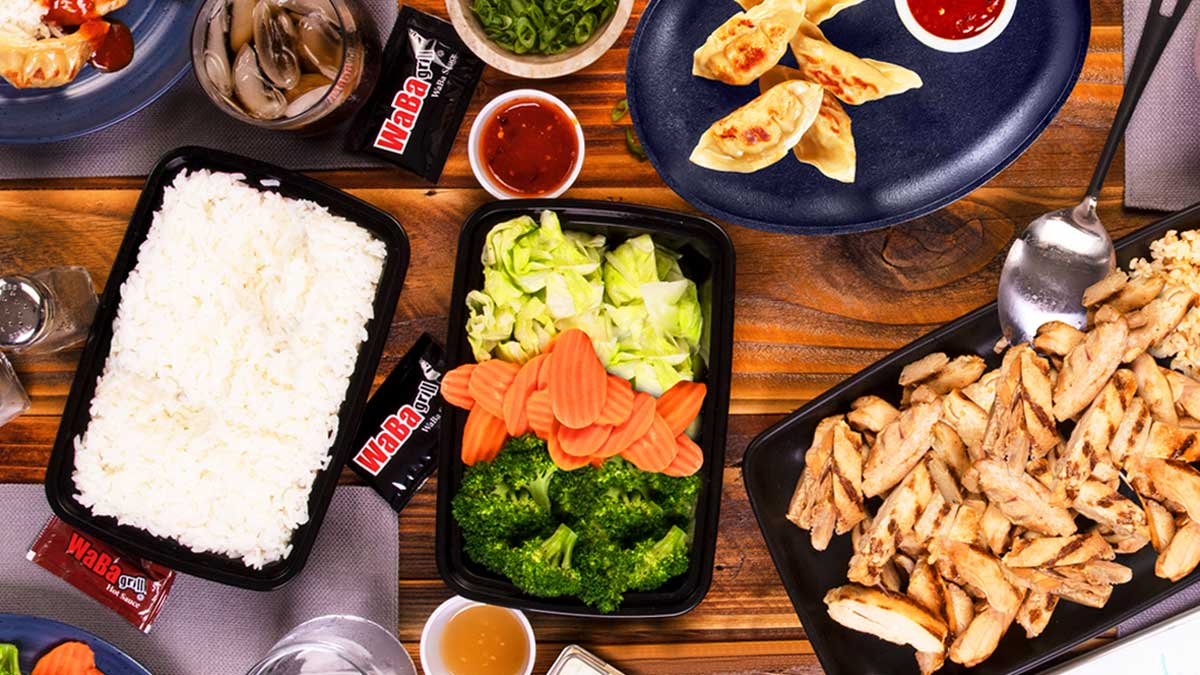WaBa Grill's New Take Home Feast Will Feed An Entire Family