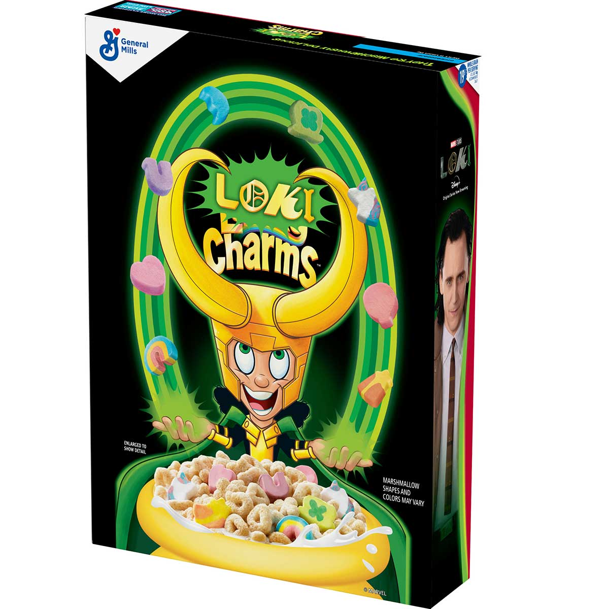 LOKI CHARMS Cereal Debuts In Exclusive Drop For 'LOKI ...
