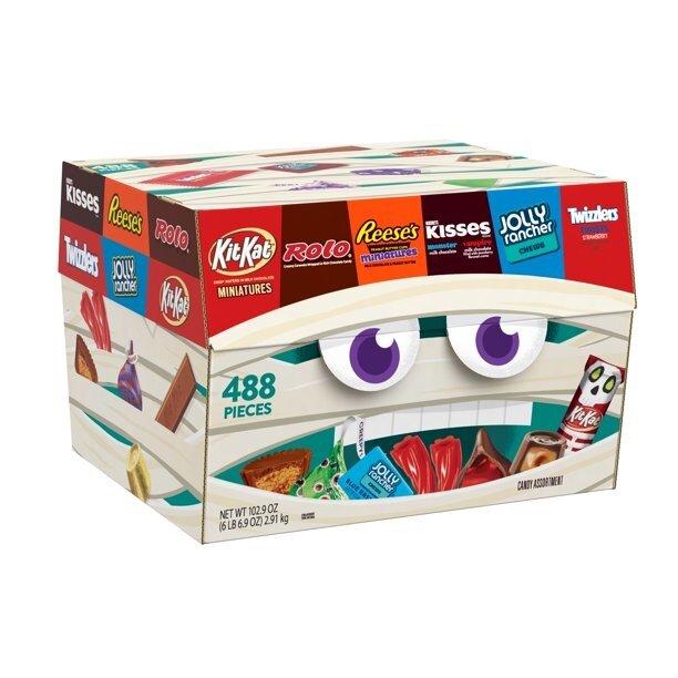 hershey's halloween candy treasure box
