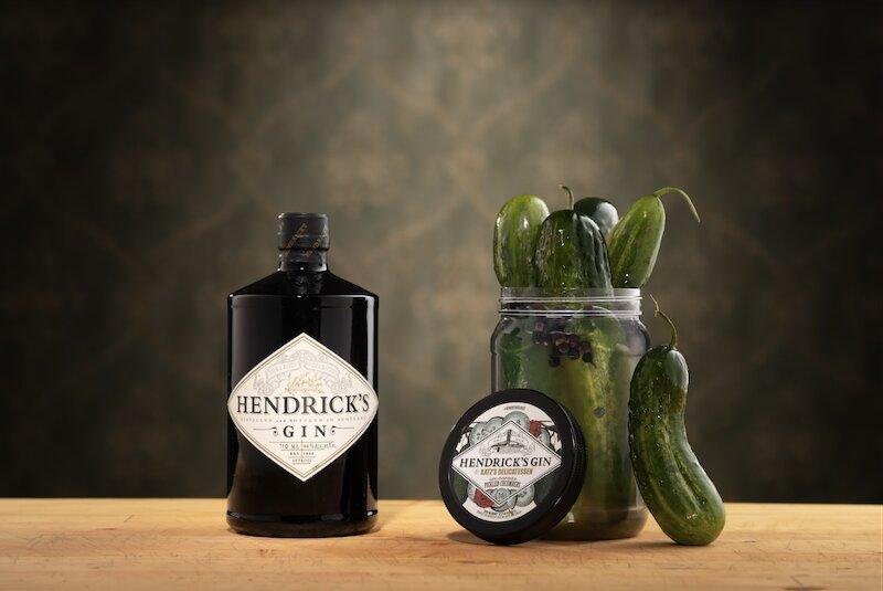 Hendrick's Gin Katz's Deli Pickles